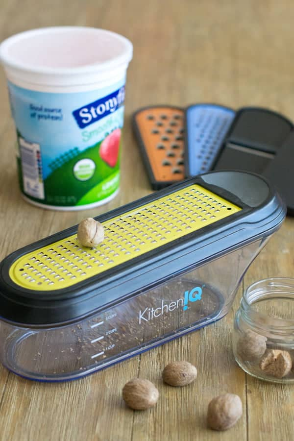 V-ETched Container Grater from Kitchen IQ