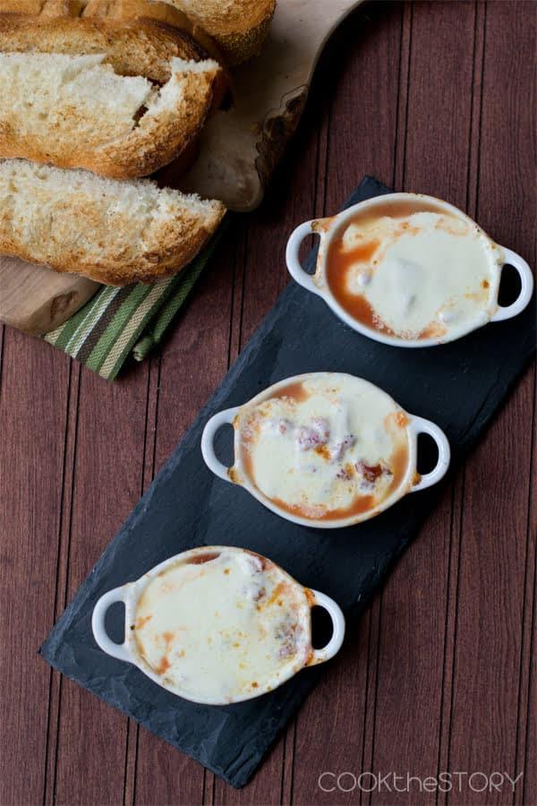 Mozzarella Fondue Soup Recipe