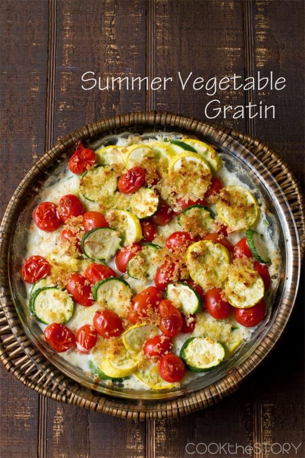 Summer Vegetable Gratin DSC_2272 edit portrait text 600px