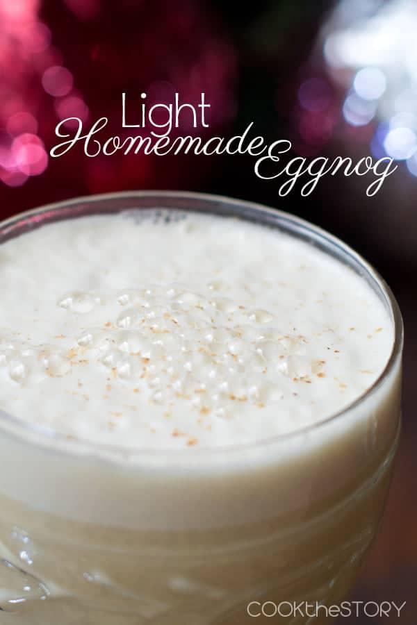Light Eggnog Recipe