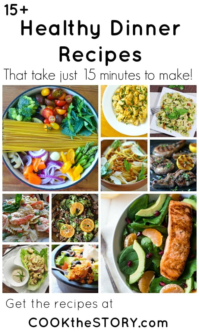 15 healthy 15 minute dinners healthy meals in under 15 minutes forumfinder Gallery