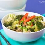 Chinese Beef and Broccoli Noodle Soup