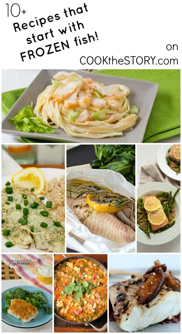 10+ Recipes that you can make from frozen fish