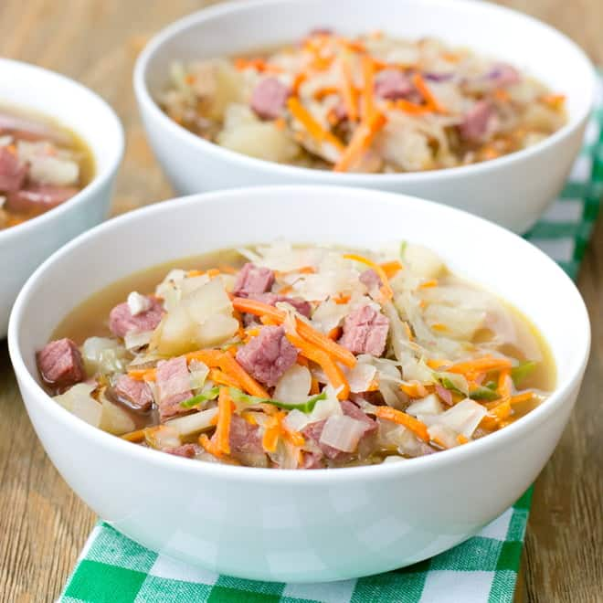 Quick Corned Beef and Cabbage Recipe