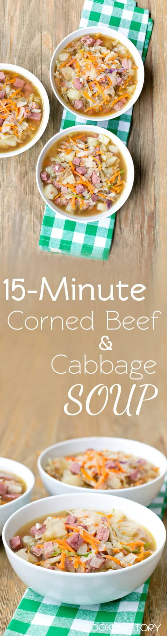 Easy Corned Beef and Cabbage Soup