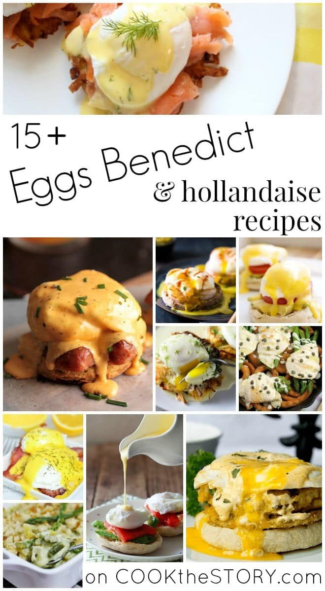 Fifteen Mouthwatering Eggs Benedict Recipes
