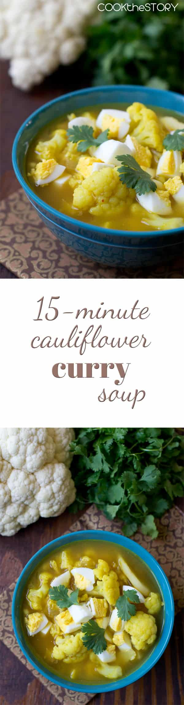 Cauliflower Curry Soup
