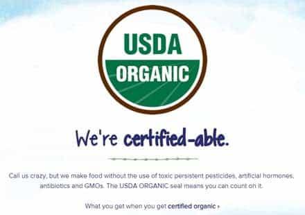 certified organic stonyfield