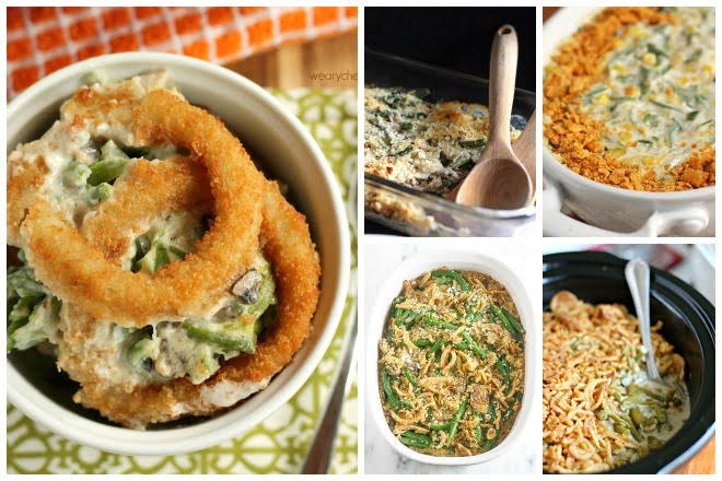 Over 30 Green Bean Casserole Recipes