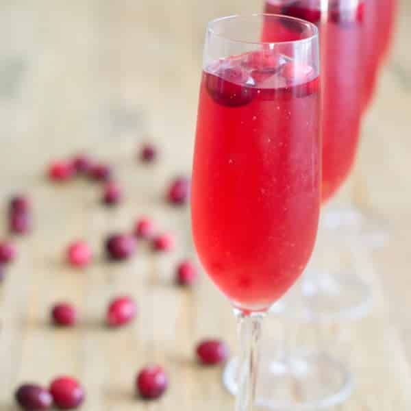 Super-easy and super-celebratory Champagne punch!